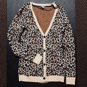 Volcom For Keeps Cheetah Cardigan